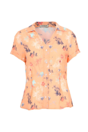 IVKO Woman - Shirt Floral Print Peach
