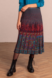 IVKO Woman - Skirt with Pleats Russet