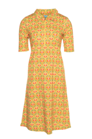 LaLamour Zipper Dress Lotus Yellow