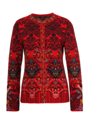 IVKO Woman - Jacket Floral Pattern Red