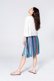 IVKO Woman - Striped Skirt Marine
