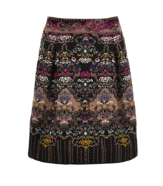 IVKO Woman - Skirt Floral Pattern Black