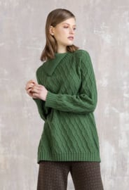 IVKO Woman - Pullover Structure Print Green