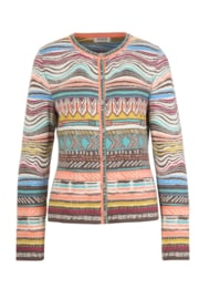 IVKO Woman - Indian Cardigan Tabac