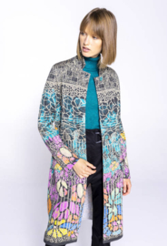 IVKO Printed Coat Black