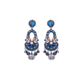 Ayala Bar Sapphire Rain, Castle Earrings