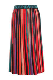 IVKO Woman - Striped Skirt Red