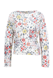 IVKO Pullover Floral Print Off-White