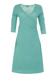 LaLamour Wrap Dress Pearly Turquoise