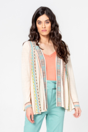 IVKO Woman - Jacket with Pleats Off-White