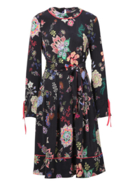 IVKO Woman - Floral Dress Black