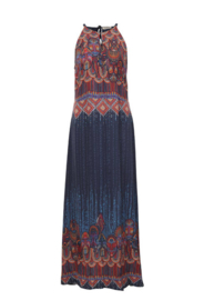 IVKO Woman - Long Dress with Print Marine