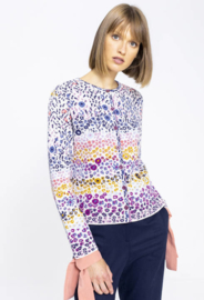 IVKO Cardigan Floral Pattern Off-White