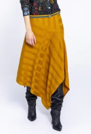 IVKO Asymmetric Skirt Golden Yellow
