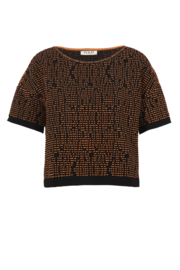 IVKO Woman - Pullover Structure Pattern Black - Pre-Collectie 2020