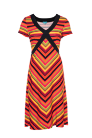 LaLamour Cross Dress Stripe Red