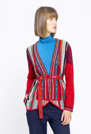 IVKO Jacket Geo Pattern Red