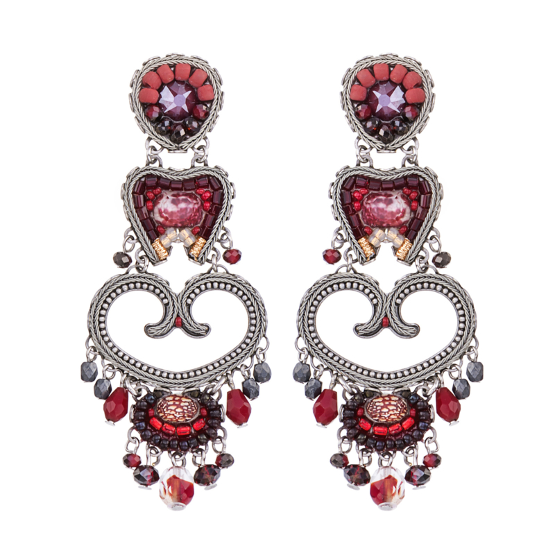 Ayala Bar Ruby Love, Emma Earrings