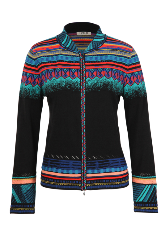 IVKO Woman - Jacket with Zip Black