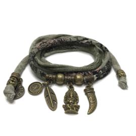 Ganesha - brons - army print