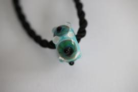 turquoise oog kraal