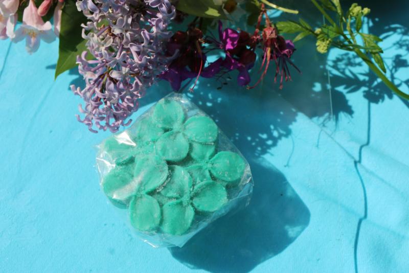groen zeepje