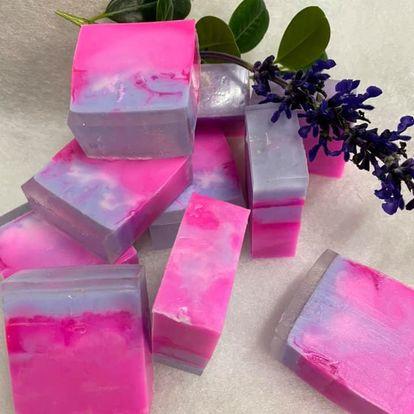 Roze bloemenmix