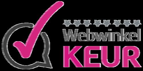 EAU DE PARFUM is member of WEBWINKELKEUR