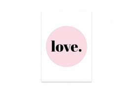 Studio Stationery Kaart Love