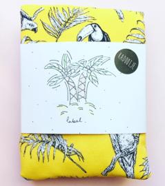 Yellow mellow jungle tas