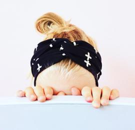 Haarband plusjes mini