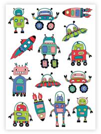 kindertattoo  robot boys