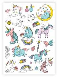 kindertattoo  unicorn