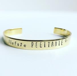 Liefste Peettante armband