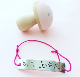 Kiddo armband- eigen tekst