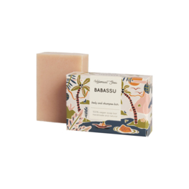 zeep-  Babassu haar en body zeep- parfum vrij
