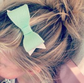 Haarstrikje vilt & glitter