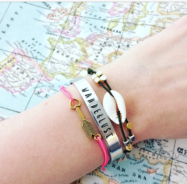 Wanderlust armband