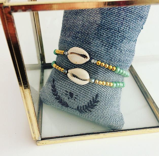 Armband schelpje