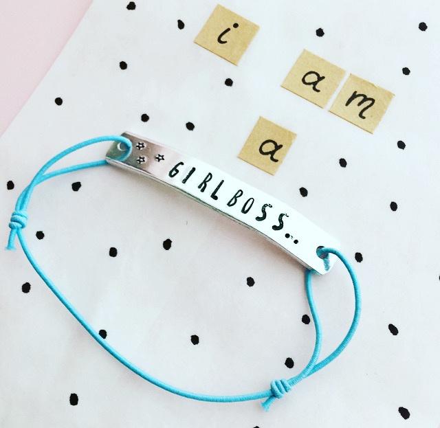 Girlboss-armband