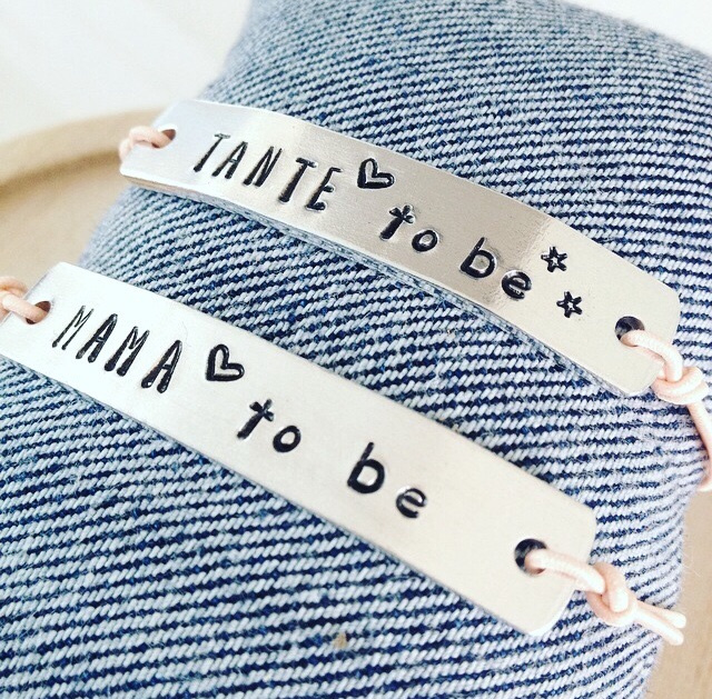 Tante to be- armband