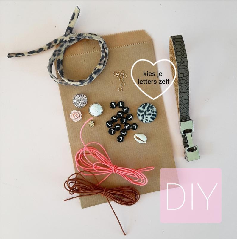 DIY sieraden pakket-luipaard summer