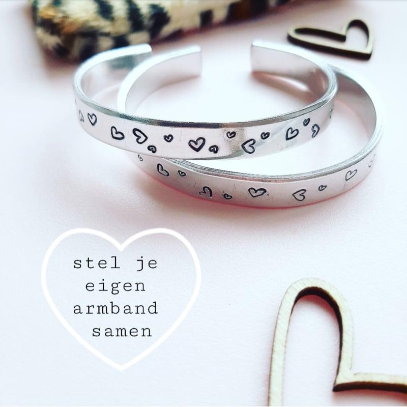 Hartjes armband