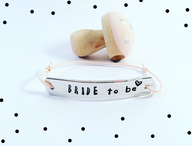Bride to be- armband