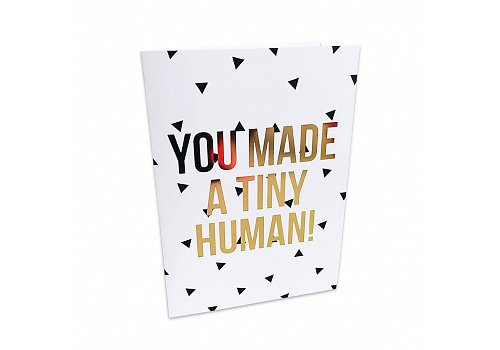Studio Stationery Greeting card Tiny human