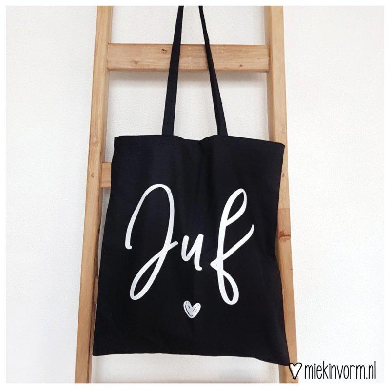 Liefste juf tas zwart