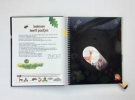 Mijn zaklampboek Speuren in het bos
