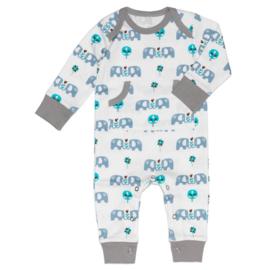 Fresk kruippakje / pyjama Elefant Blue