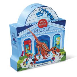 Puzzel Day at the Museum Dinosaurus - 48 stukjes - Crocodile Creek