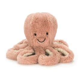 Baby Octopus Odell knuffel - Jellycat